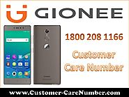 Gionee Customer Care Number