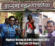Highest Voting in BMC Elections 2017 in The Last 25 Years