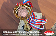 Diploma Certificate Attestation Service UAE | Genius Attestation