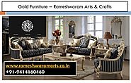 Gold Furniture Design – Rameshwaram Artcarft – Medium