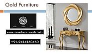 Gold Furniture Supplier