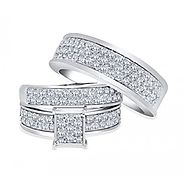 Wedding Band Sets for Men And Women