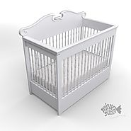 Buy Baby Cribs Online & Baby Convertible Cribs For Sale | Pink Guppy Kids