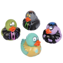 12 pc Vinyl Zombie Rubber Duckies