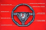 Buy Custom Carbon Fiber Steering Wheel Online