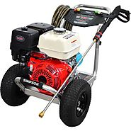 Simpson Aluminum alh4240 Gas Pressure Washer Review