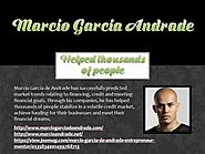Marcio Garcia Andrade - Helped thousands of people
