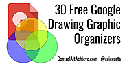 30 Free Google Drawings Graphic Organizers