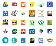 OneScreen of Apps for the Chromebook Classroom by Hollyclark