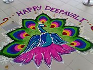 Happy Diwali Rangoli Designs 2017 - Rangoli Patterns For Diwali 2017