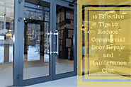 Get best commercial door repair in Sydney - KRGS Doors