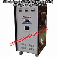 Website at https://standavietnam.net/bien-ap-standa-10kva/