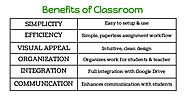 Benefits of Google Classroom