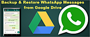 How to Restore WhatsApp Backup from Google Drive to iPhone/Android