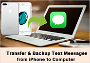 Easy Way to Transfer & Backup Text Messages from iPhone to Computer
