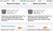 How to Restore WhatsApp Backup from iCloud to Android/iPhone