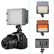 NEEWER CN-216 216PCS LED Dimmable Ultra High Power Panel Digital Camera / Camcorder Video Light, LED Light for Canon,...