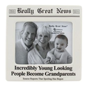 Funny New Grandparent Frame