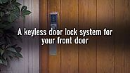 A Locksmith Can Install a Keyless Door Lock for Your Home