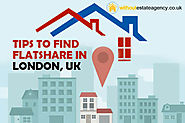 Tips to Find Flatshare in London, UK