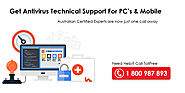 Antivirus Technical Support - Australia Technical Support Company
