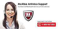 McAfee Technical Support Australia - Call 1 800 987 893 Antivirus Tech Support