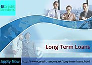 Long Term Loans For Unemployed People in UK