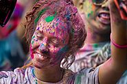 Eco-friendly Gulal Colour Powder For Color Run