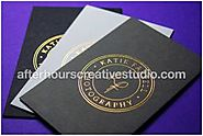 Glossy effect, Luxury Business Cards printing on 600gsm thick card