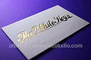 Smooth and Textured Luxury Business Cards