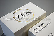 Luxury Business Cards - Creative printing service