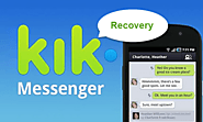 Kik Data Recovery - Retrieve Deleted Kik Messages, Pictures, etc from Android