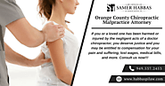 Orange County Chiropractic Malpractice Attorney