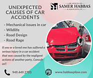 Unexpected Causes of Car Accidents