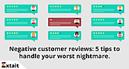 How To Respond To Negative Reviews and Win Back Customers