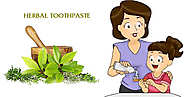 Make your own herbal tooth paste at home
