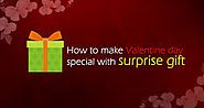 How to make Valentine day special with surprise gift | Meratask