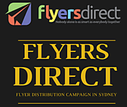 Flyer Distribution in North Sydney, Australia