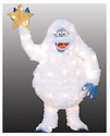 Rudolph's Bumble The Abominable Snowman Outdoor Decoration