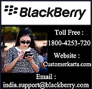Find Blackberry India Customer Care Number | Chat, Email, 24*7 Call Toll Free
