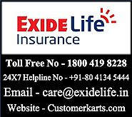 Check Exide Life Insurance Customer Care | 24*7 Toll Free Helpline No, Chat