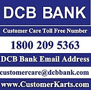 Find DCB Bank Customer Care Toll Free Number | Helpline 24*7, Chat, Email