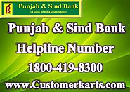 Find Punjab & Sind Bank Customer Care Number, 24*7 Helpline, Chat, Mail