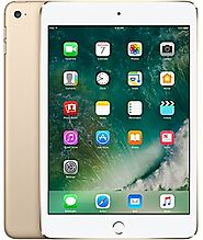 Apple iPad mini 4 Tablet in 7.9 inch screen comes in Gold