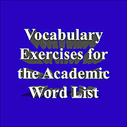 Academic Word List Exercises