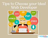 Tips to Choose your Ideal Web Developer - Capital Web Solutions