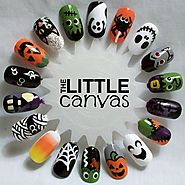 Happy Halloween Nails 2017 - Halloween Nail Art | Halloween Nail Designs