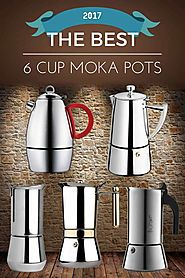 The Best 6 Cup Moka Pots of 2017 | Dopimize