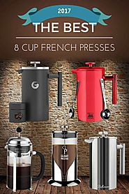 The Best 8 Cup French Presses of 2017 | Dopimize
