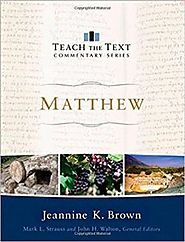 Question and Answer with Jeannine K. Brown on Matthew (TTT)